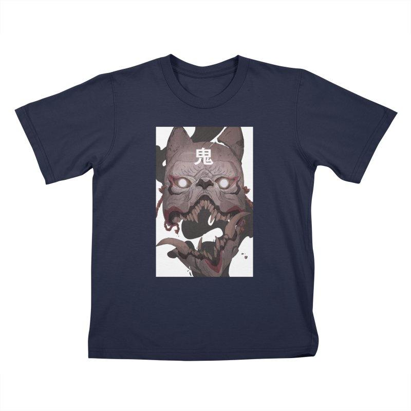 Kitsune Kids T-Shirt by Chun Lo's Artist Shop