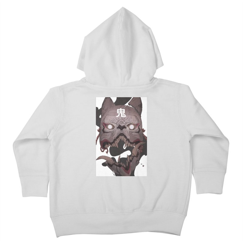 Kitsune Kids Toddler Zip-Up Hoody by Chun Lo's Artist Shop