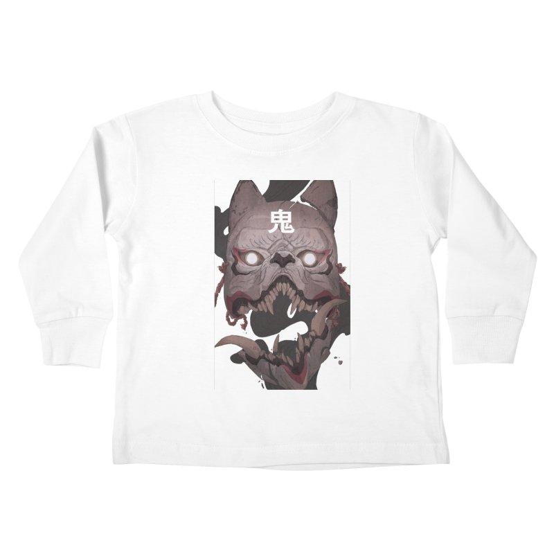 Kitsune Kids Toddler Longsleeve T-Shirt by Chun Lo's Artist Shop