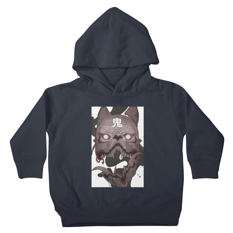 Kitsune Kids Toddler Pullover Hoody by Chun Lo's Artist Shop
