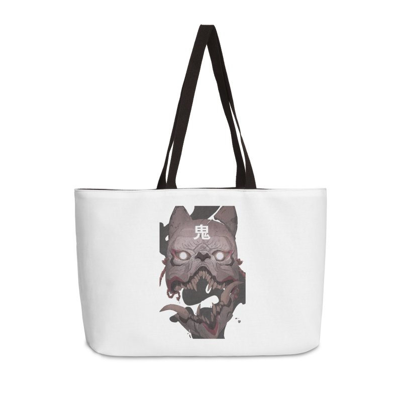 Kitsune Accessories Weekender Bag Bag by Chun Lo's Artist Shop
