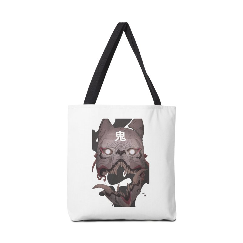 Kitsune Accessories Tote Bag Bag by Chun Lo's Artist Shop