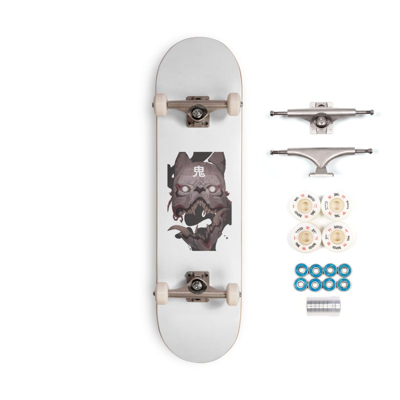 Kitsune Accessories Complete - Premium Skateboard by Chun Lo's Artist Shop