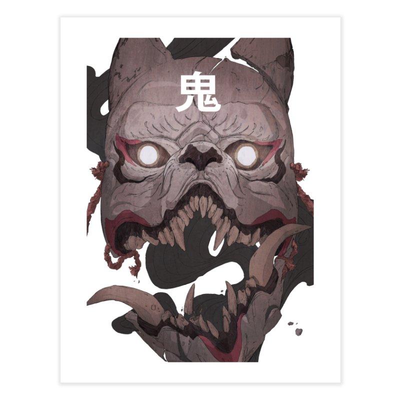 Kitsune Home Fine Art Print by Chun Lo's Artist Shop