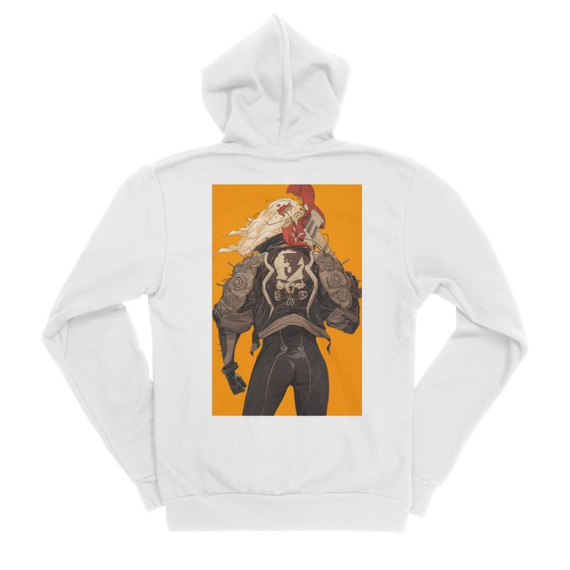 Dismantle Women's Sponge Fleece Zip-Up Hoody by Chun Lo's Artist Shop