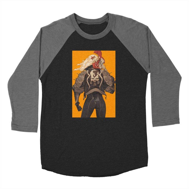 Dismantle Men's Baseball Triblend Longsleeve T-Shirt by Chun Lo's Artist Shop