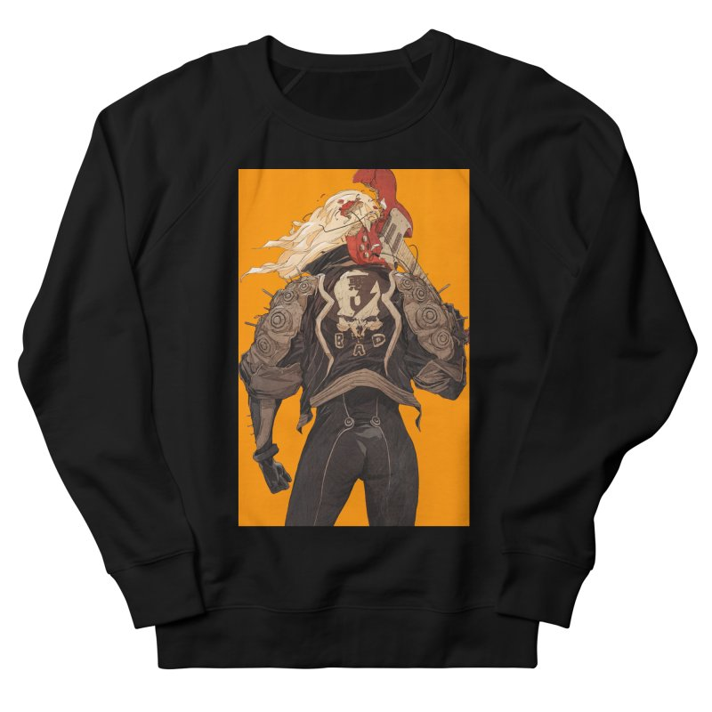 Dismantle Men's French Terry Sweatshirt by Chun Lo's Artist Shop