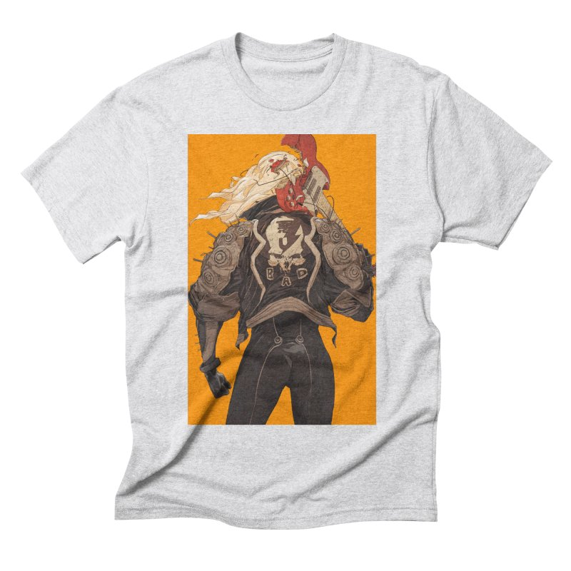 Dismantle Men's Triblend T-Shirt by Chun Lo's Artist Shop