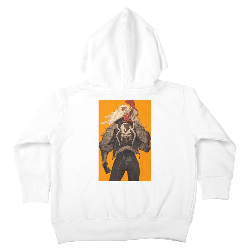 Dismantle Kids Toddler Zip-Up Hoody by Chun Lo's Artist Shop