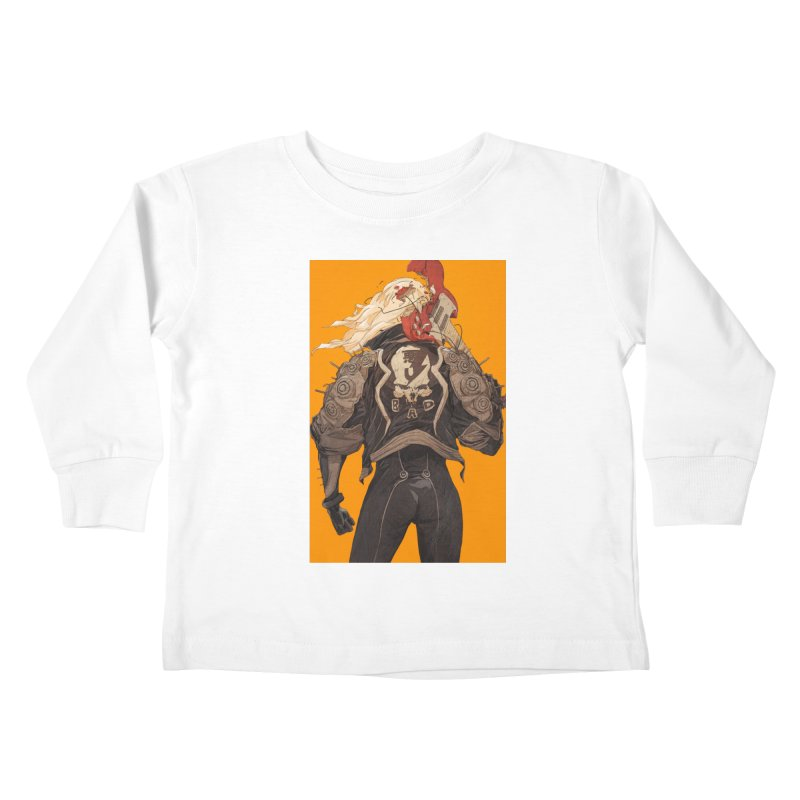 Dismantle Kids Toddler Longsleeve T-Shirt by Chun Lo's Artist Shop