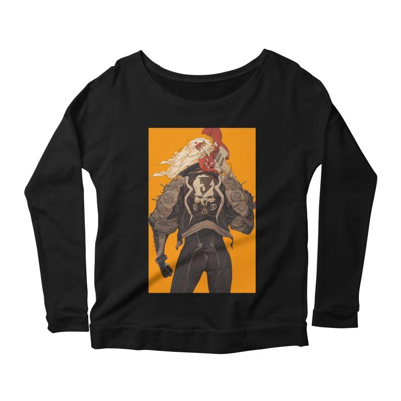 Dismantle Women's Scoop Neck Longsleeve T-Shirt by Chun Lo's Artist Shop