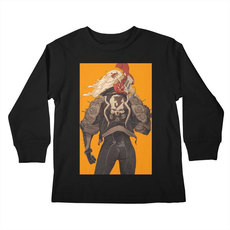 Dismantle Kids Longsleeve T-Shirt by Chun Lo's Artist Shop