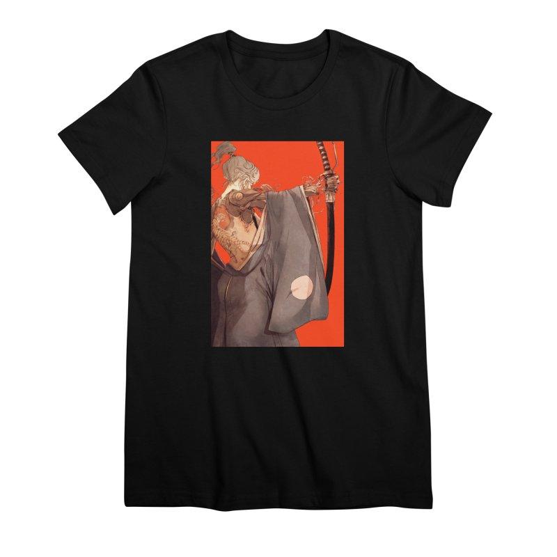 Mantle Women's Premium T-Shirt by Chun Lo's Artist Shop