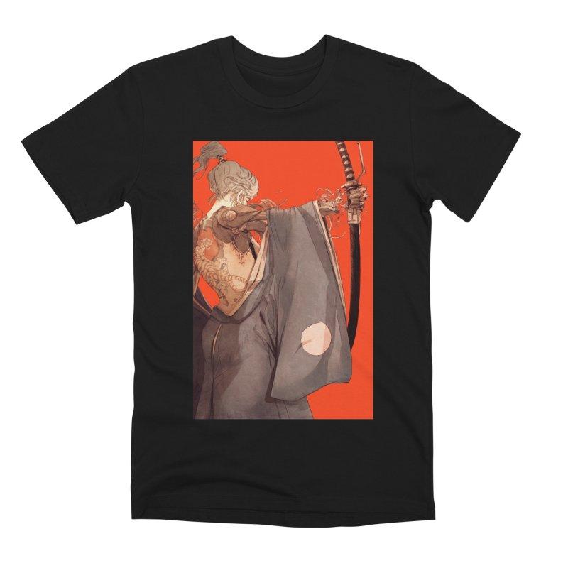 Mantle Men's Premium T-Shirt by Chun Lo's Artist Shop