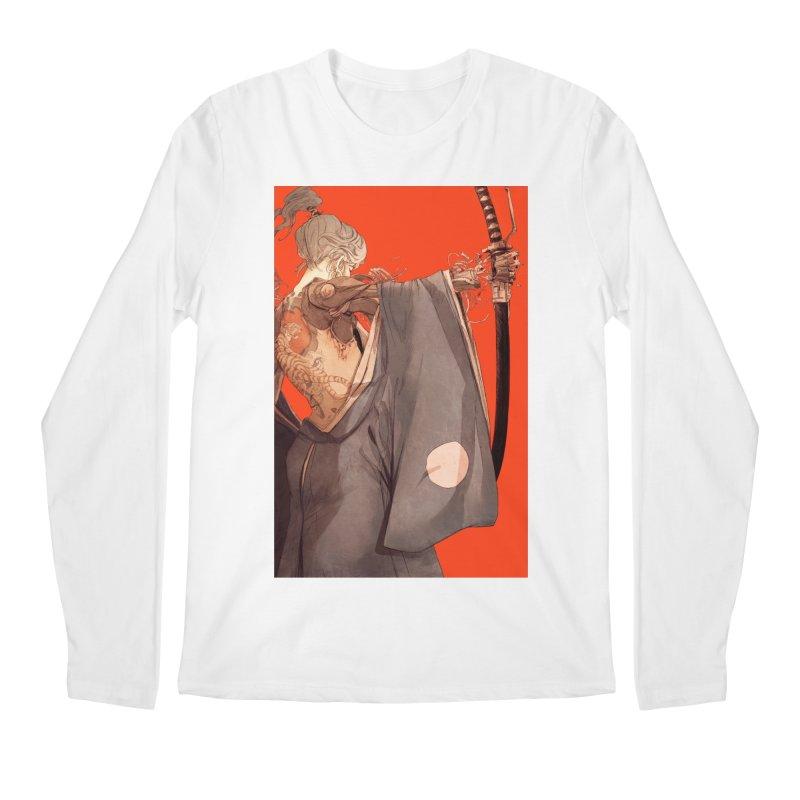 Mantle Men's Regular Longsleeve T-Shirt by Chun Lo's Artist Shop