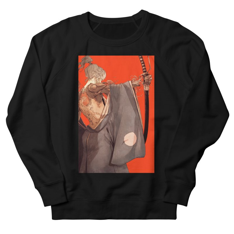 Mantle Men's French Terry Sweatshirt by Chun Lo's Artist Shop