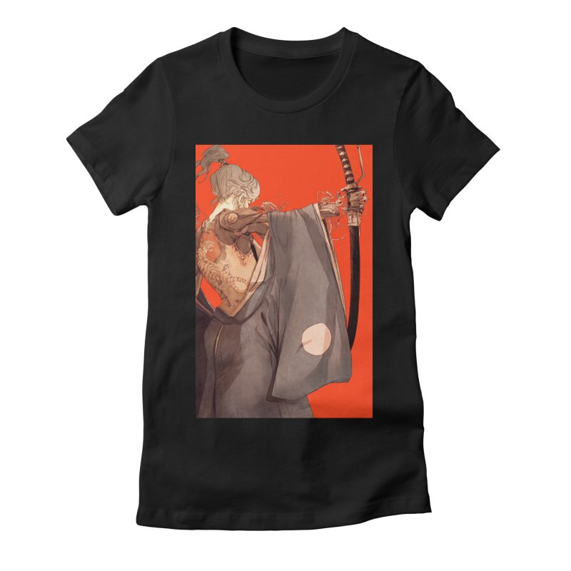 Mantle Women's Fitted T-Shirt by Chun Lo's Artist Shop