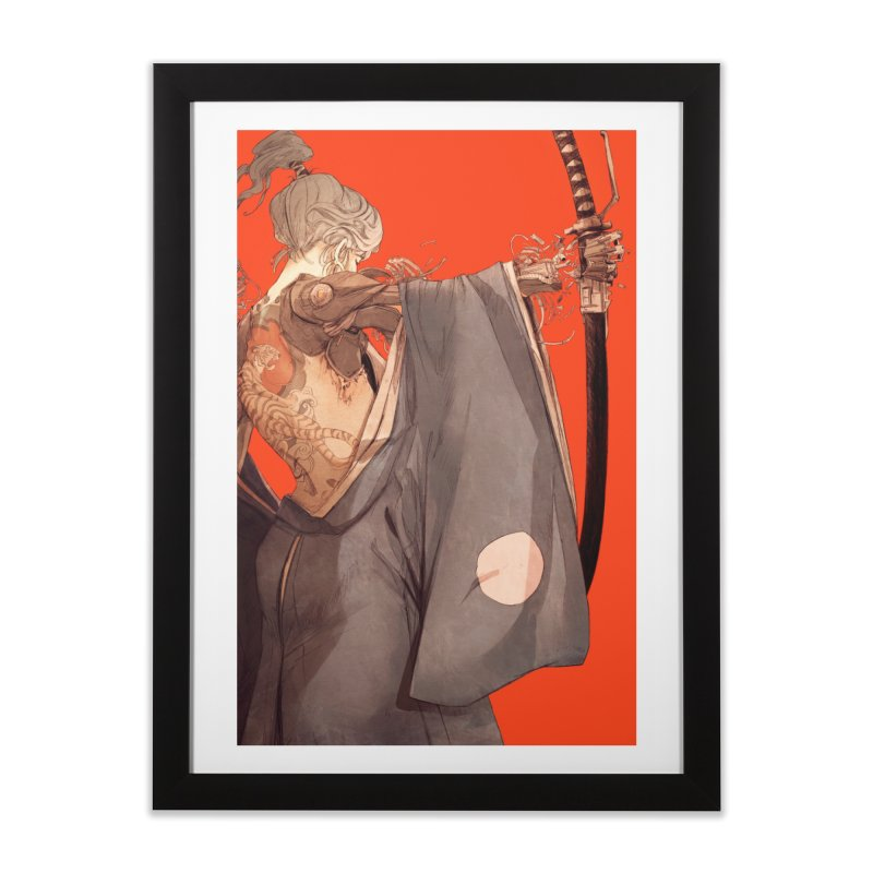 Mantle Home Framed Fine Art Print by Chun Lo's Artist Shop
