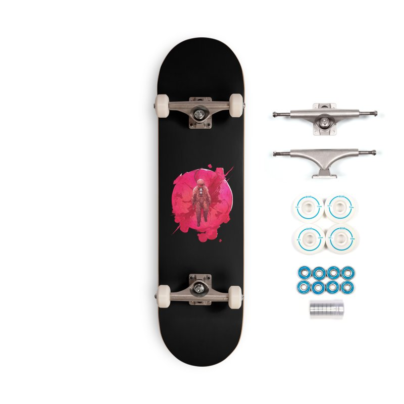 The World Accessories Complete - Basic Skateboard by Chun Lo's Artist Shop