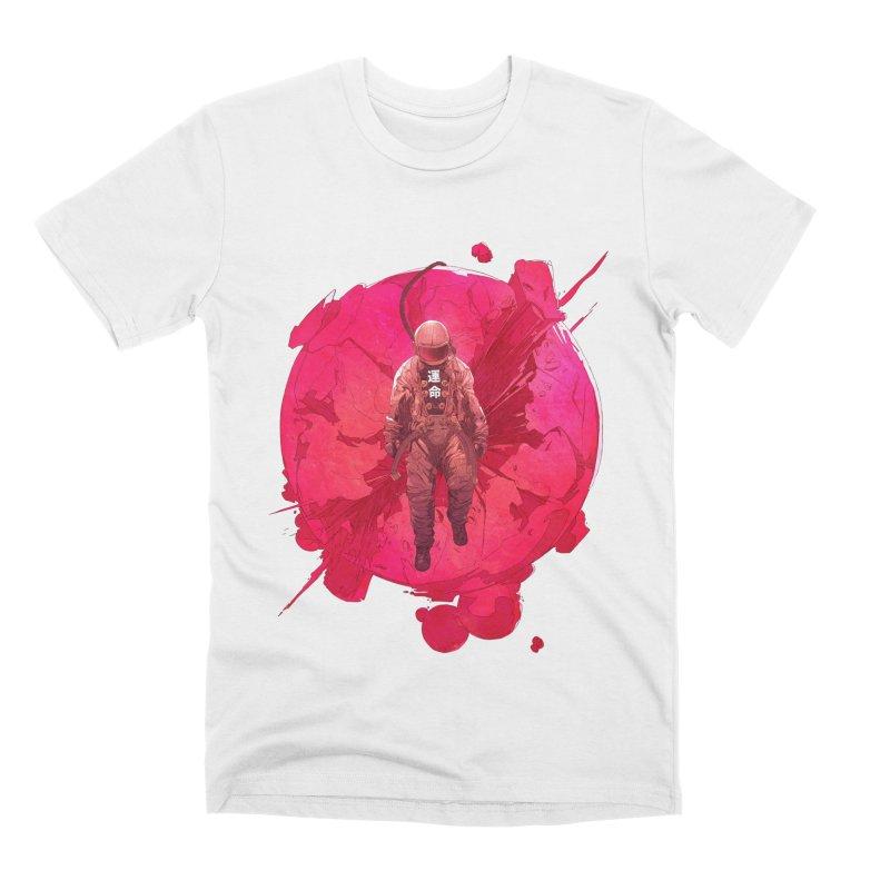 The World Men's Premium T-Shirt by Chun Lo's Artist Shop