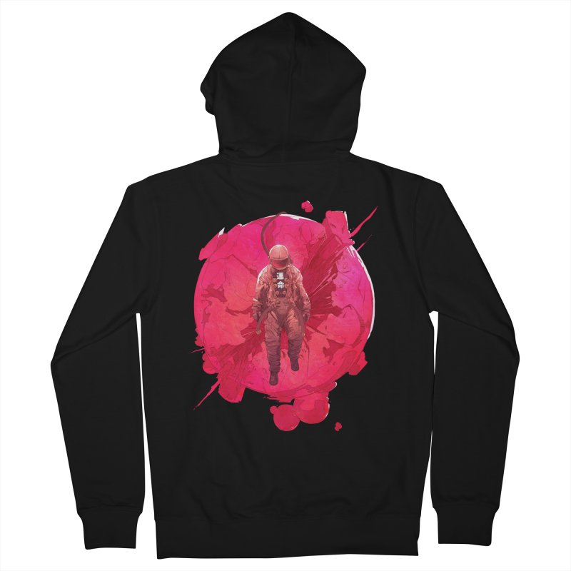 The World Women's French Terry Zip-Up Hoody by Chun Lo's Artist Shop