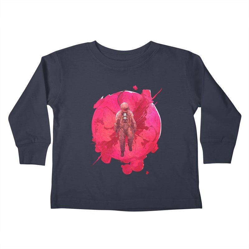 The World Kids Toddler Longsleeve T-Shirt by Chun Lo's Artist Shop