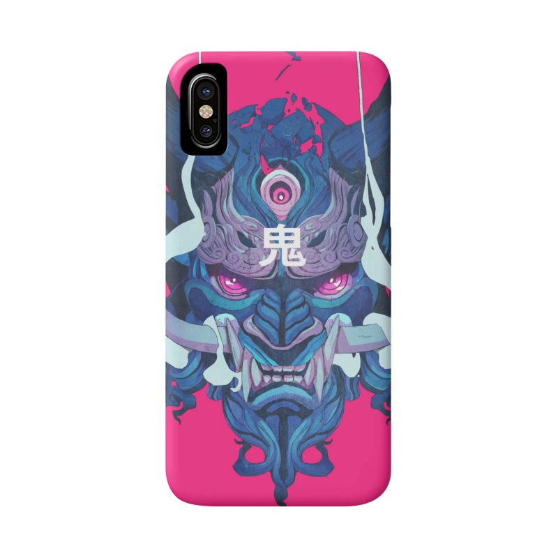 Oni Mask 01 Accessories Phone Case by Chun Lo's Artist Shop