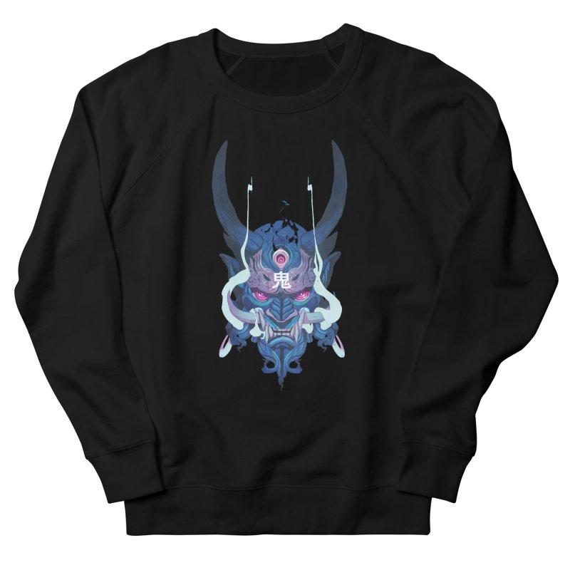 Oni Mask 01 Men's French Terry Sweatshirt by Chun Lo's Artist Shop