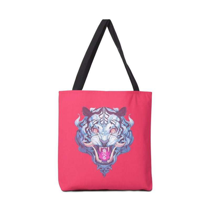 The Tiger Accessories Tote Bag Bag by Chun Lo's Artist Shop