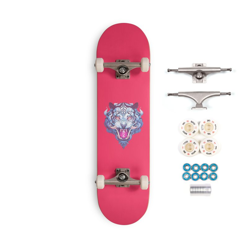 The Tiger Accessories Complete - Premium Skateboard by Chun Lo's Artist Shop