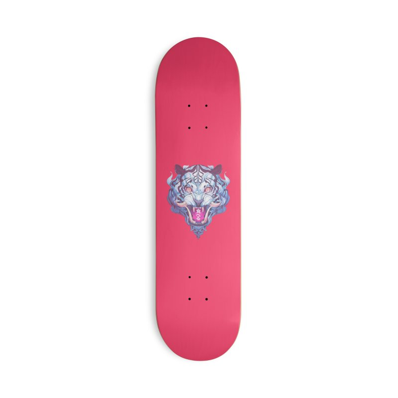 The Tiger Accessories Deck Only Skateboard by Chun Lo's Artist Shop