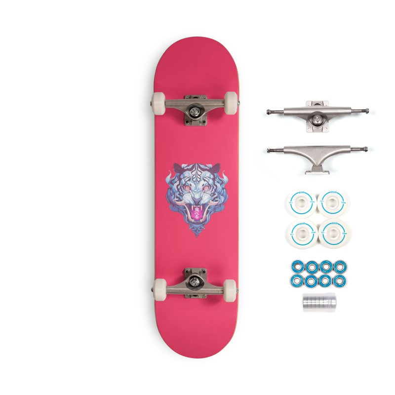 The Tiger Accessories Complete - Basic Skateboard by Chun Lo's Artist Shop