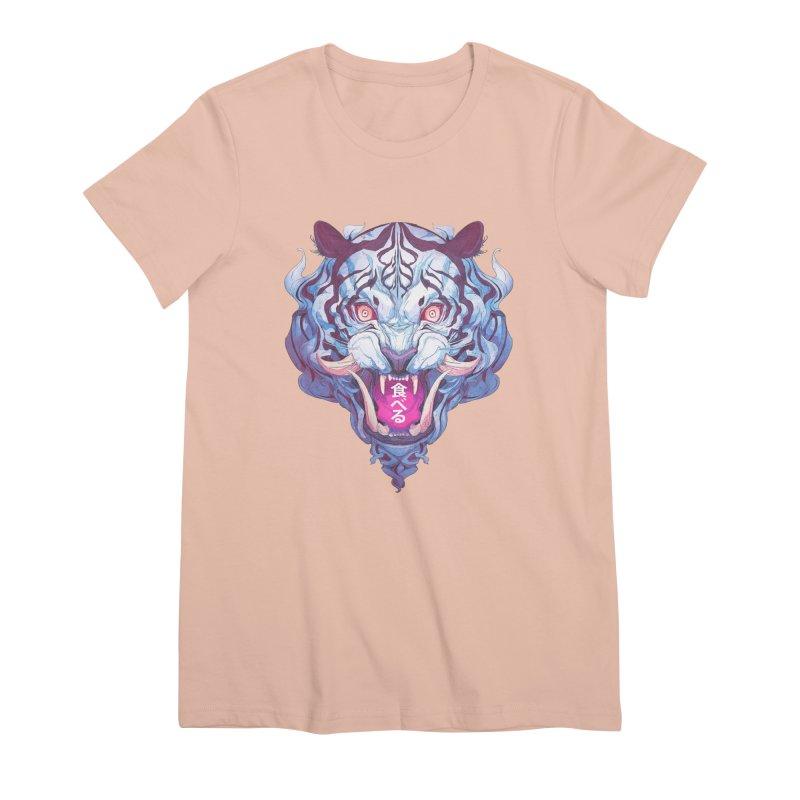 The Tiger Women's Premium T-Shirt by Chun Lo's Artist Shop