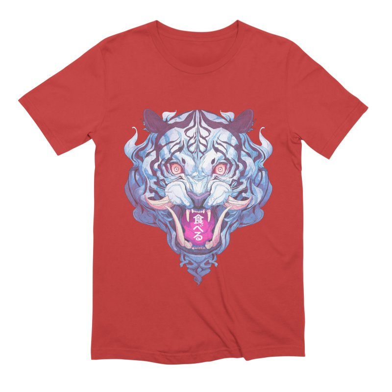 The Tiger Men's Extra Soft T-Shirt by Chun Lo's Artist Shop