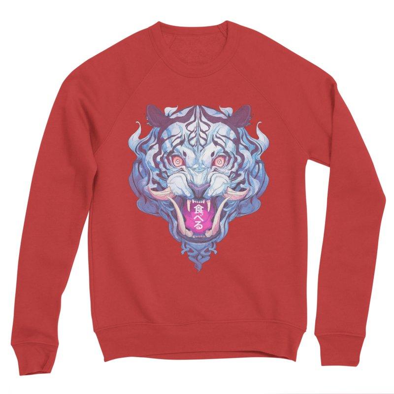The Tiger Women's Sponge Fleece Sweatshirt by Chun Lo's Artist Shop
