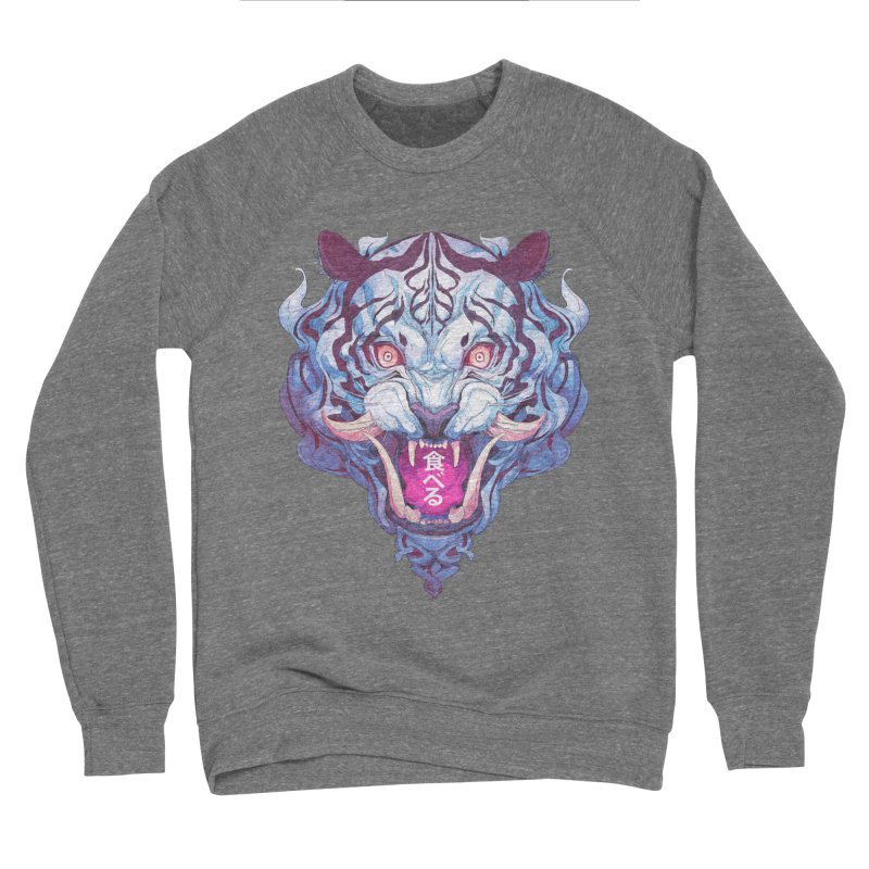 The Tiger Men's Sponge Fleece Sweatshirt by Chun Lo's Artist Shop