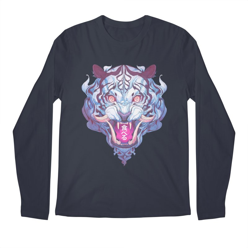 The Tiger Men's Regular Longsleeve T-Shirt by Chun Lo's Artist Shop