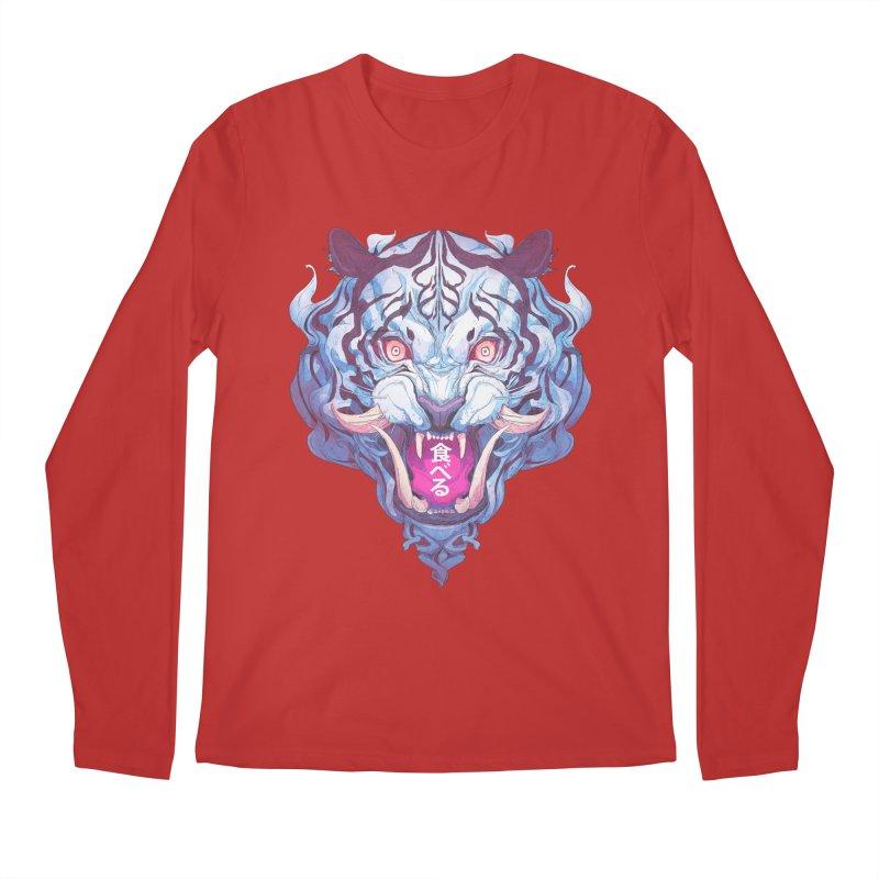 The Tiger Men's Regular Longsleeve T-Shirt by Chun Lo's Artist Shop