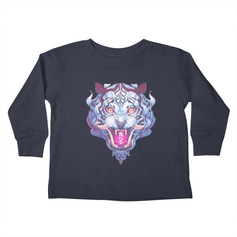 The Tiger Kids Toddler Longsleeve T-Shirt by Chun Lo's Artist Shop