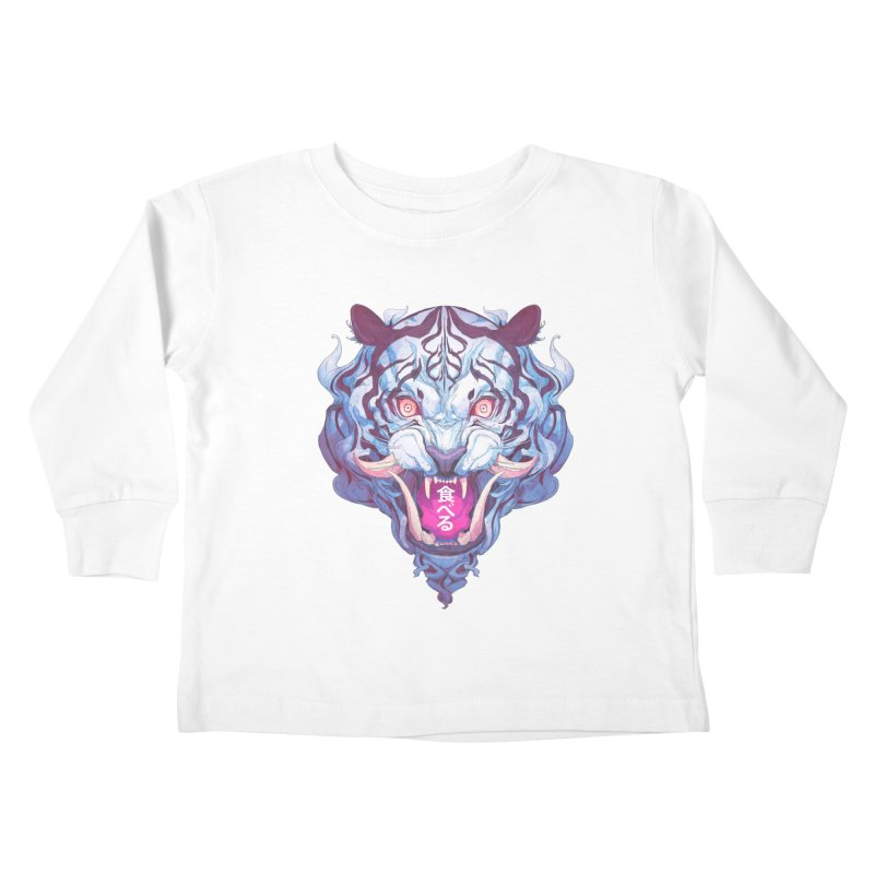 The Tiger Kids Toddler Longsleeve T-Shirt by Chun Lo's Artist Shop