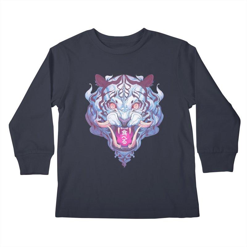 The Tiger Kids Longsleeve T-Shirt by Chun Lo's Artist Shop