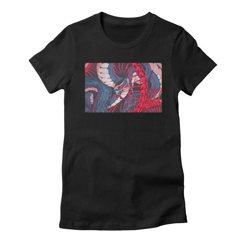 Ouroboros Women's T-Shirt by Chun Lo's Artist Shop
