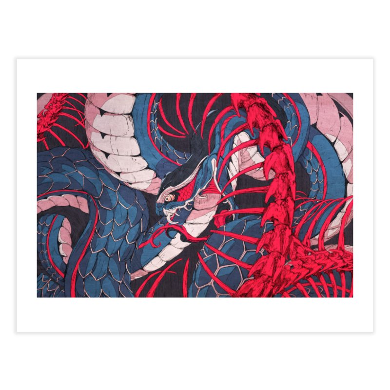 Ouroboros Home Fine Art Print by Chun Lo's Artist Shop