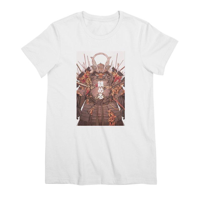 Pacify Women's Premium T-Shirt by Chun Lo's Artist Shop