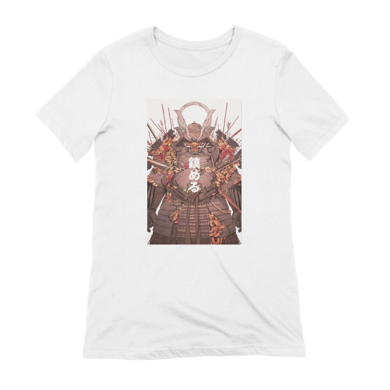 Pacify Women's Extra Soft T-Shirt by Chun Lo's Artist Shop