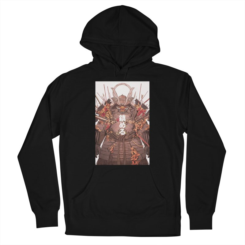 Pacify Men's French Terry Pullover Hoody by Chun Lo's Artist Shop