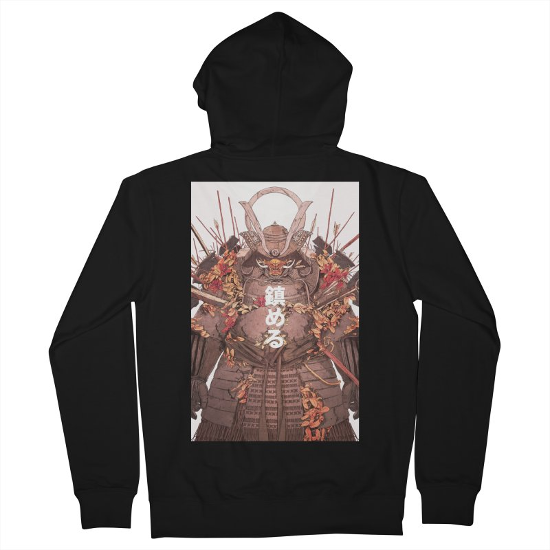 Pacify Men's French Terry Zip-Up Hoody by Chun Lo's Artist Shop