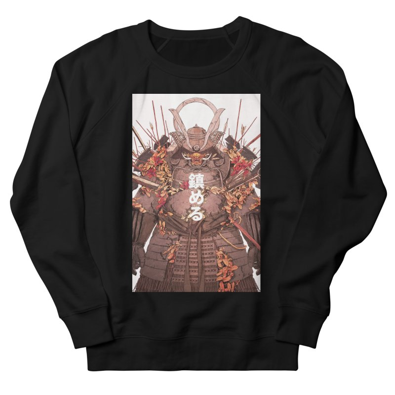 Pacify Men's French Terry Sweatshirt by Chun Lo's Artist Shop