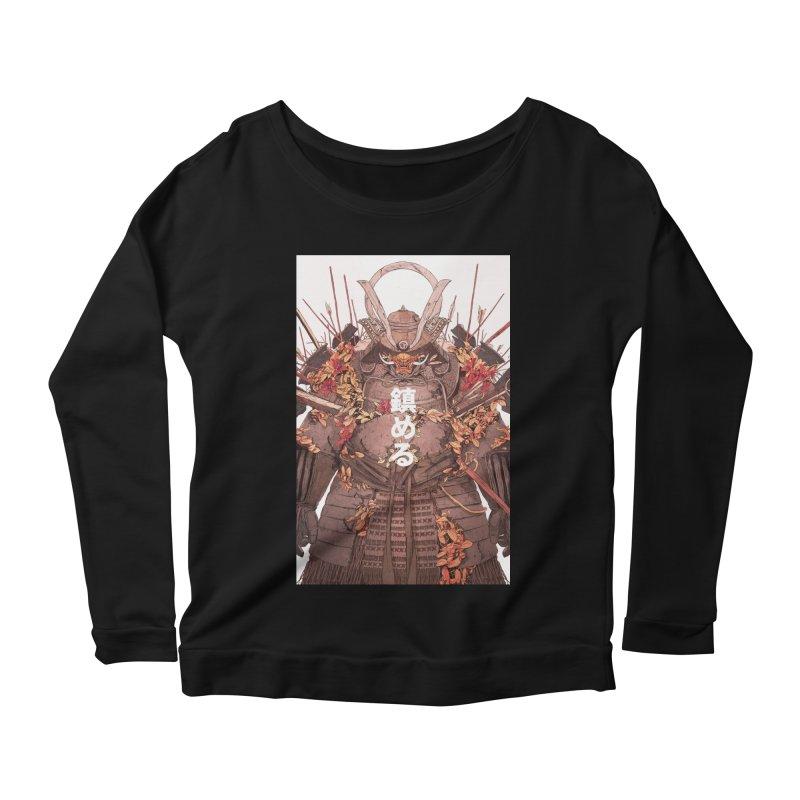 Pacify Women's Scoop Neck Longsleeve T-Shirt by Chun Lo's Artist Shop