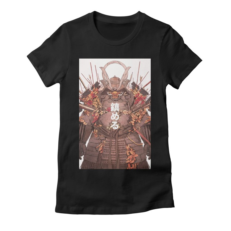 Pacify Women's Fitted T-Shirt by Chun Lo's Artist Shop